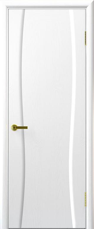 Дверь межкомнатная Диадема 1 Ясень жемчуг Глухая