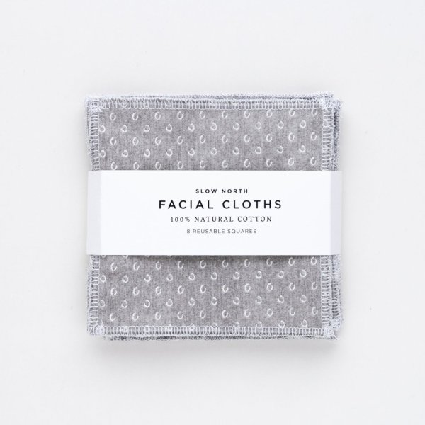Slow North Facial Cloths