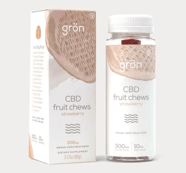 Gron Strawberry Fruit Chews