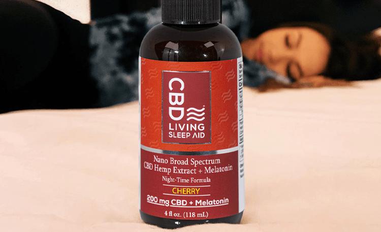 CBD Living Cherry Sleep Syrup