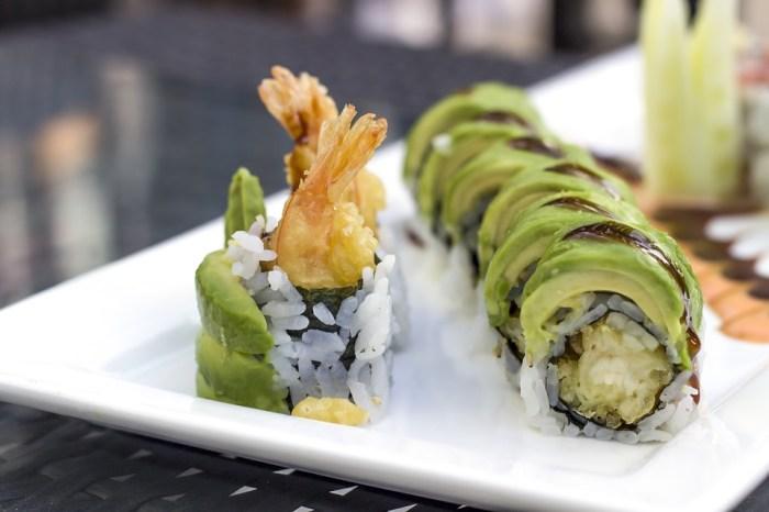 sushi avocado gesund