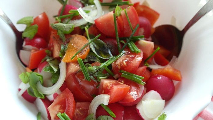 Salat Salsa Gesundes leckeres Essen