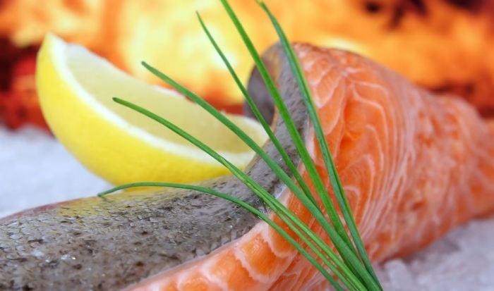 schnelles Abendessen, schnelles Essen, Abendessen Ideen, Abendessen Idee gebratener Lachs