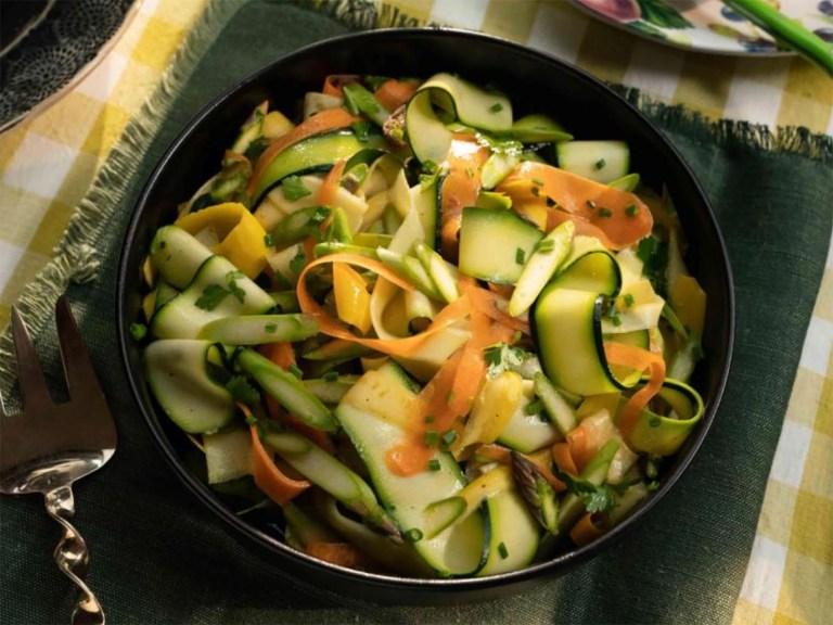 Veggie Ribbon Salad