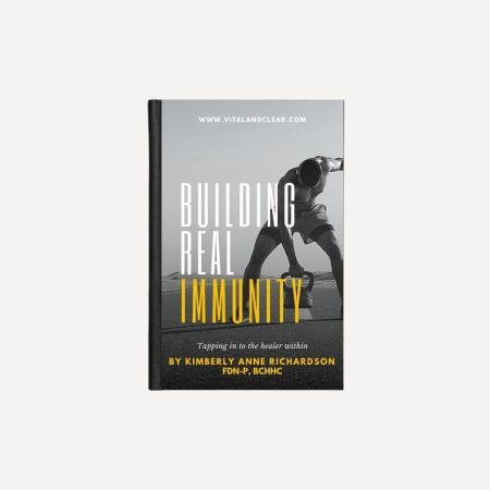 Building Real Immunity Ebook by Vital + Clear cover image