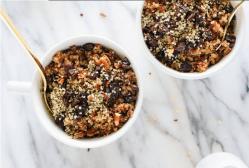 vital and clear cinnamon quinoa