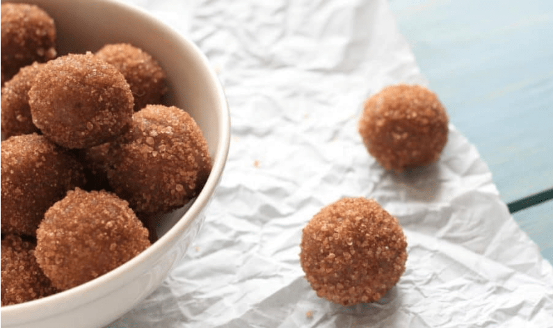 vital and clear snickerdoodle energy bites