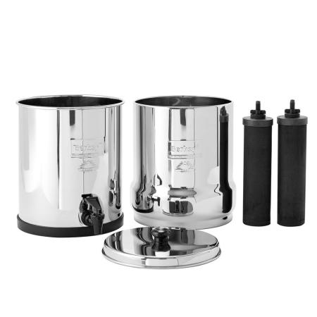 Big Berkey Filter 2 Gallon Bundle with PF-2 Fluoride/Arsenic Filters imagr
