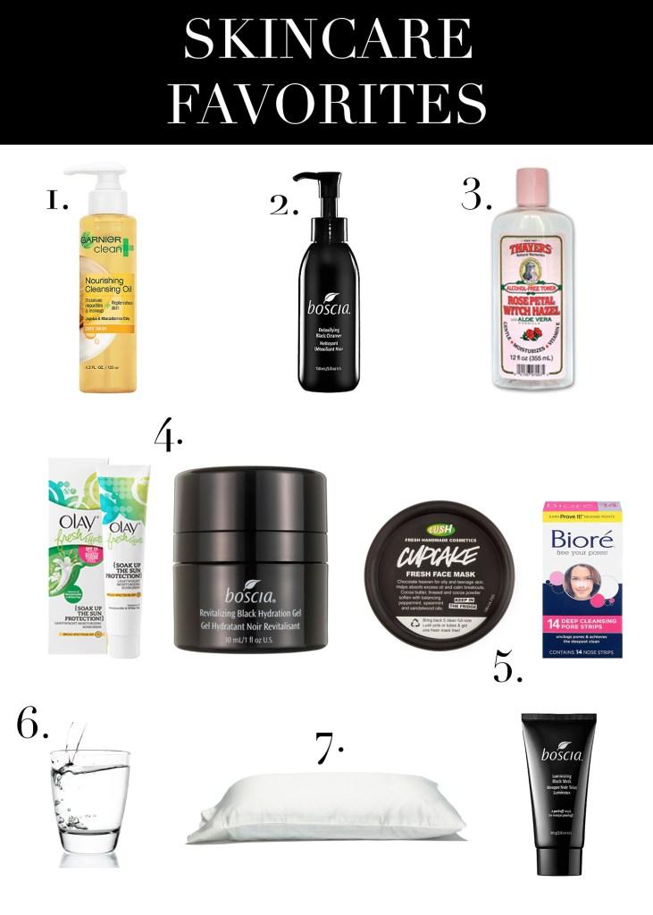 The Lipstick Tales - Skincare Favorites