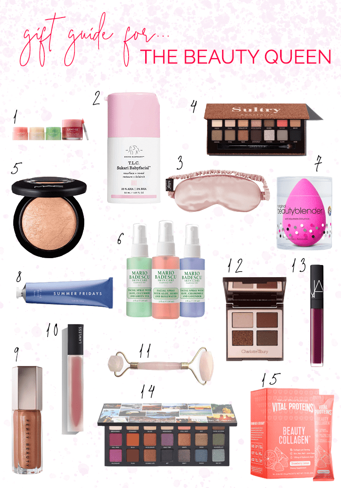 VITAL BLONDE GIFT GUIDE FOR THE BEAUTY LOVER