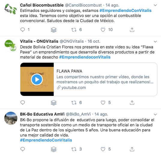 #EmprendiendoConVitalis