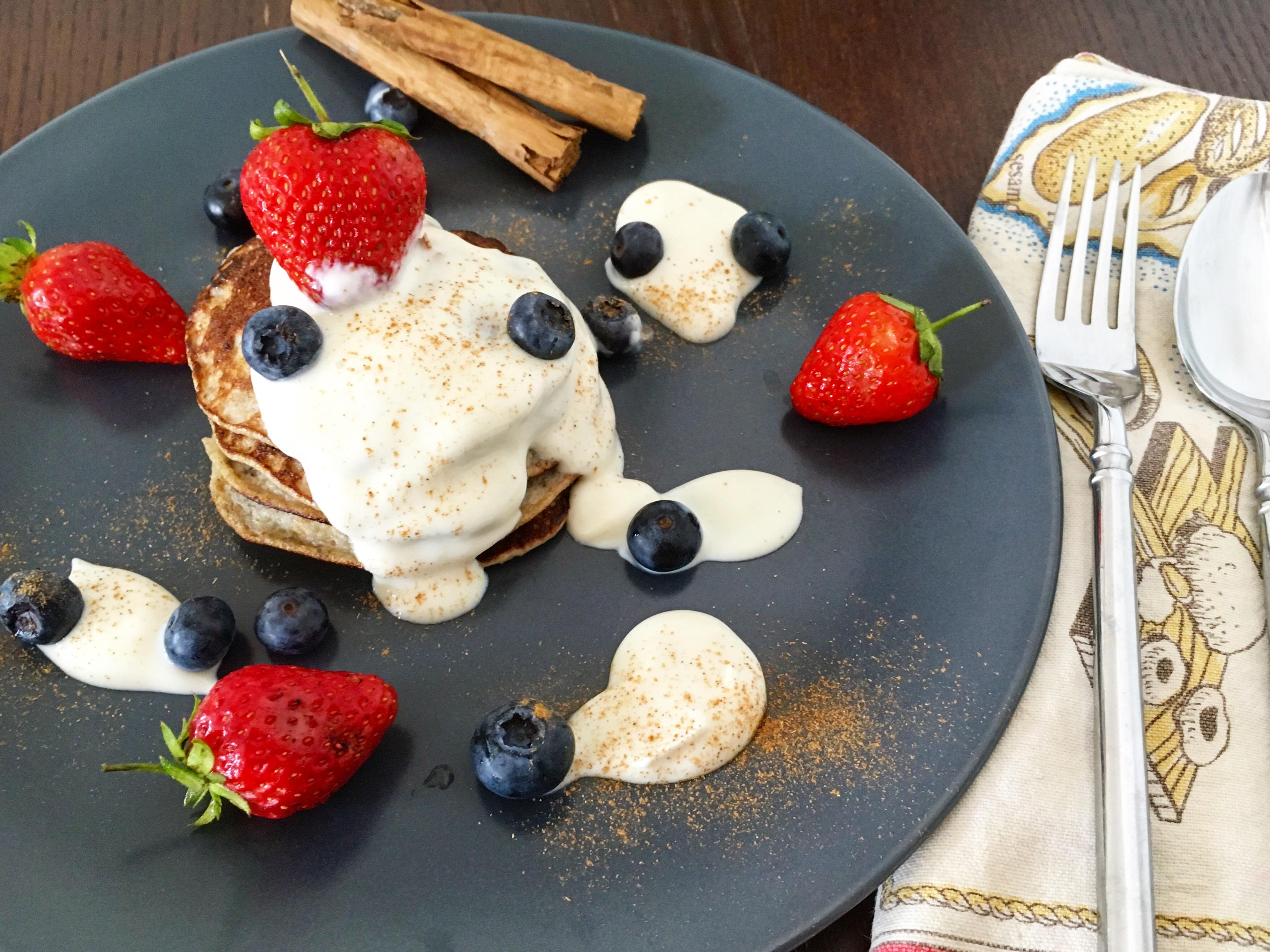 Gluten Free, Dairy Free Two-Ingredient Banana Pancakes 🍌