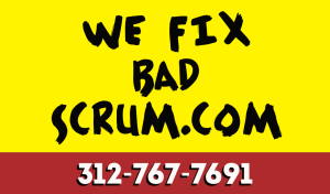 We Fix Bad Scrum