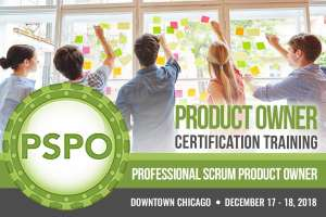 Professional Scrum Product Owner PSPO December 2018