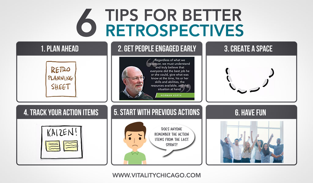 6 Tips For a Better Scrum Retrospective