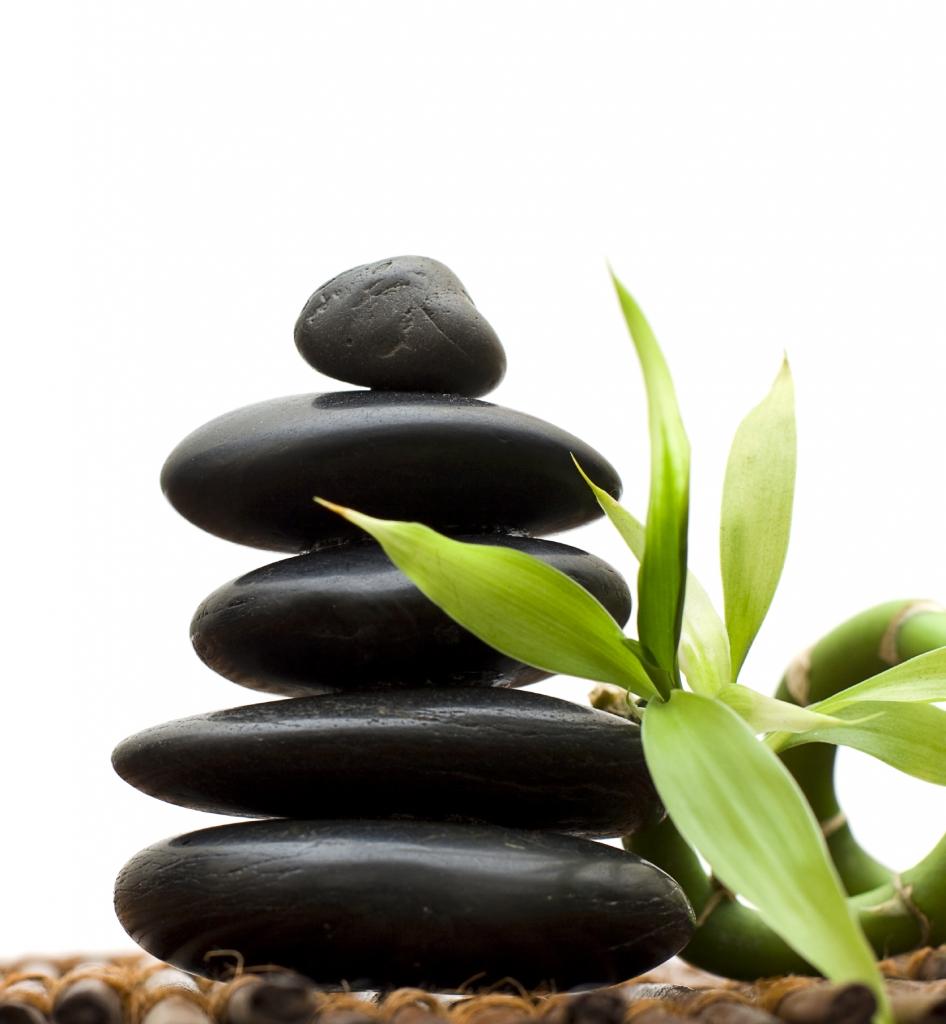 Meditation for balance stones (stacked)