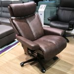 Stressless Magic Paloma Chocolate Leather Office Desk Chair By Ekornes Stressless Magic Paloma Chocolate Leather Chairs Recliners