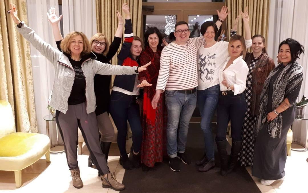 В марте 2019 в Одессе очередной выпуск Гештальт-коучей! Поздравляю с сертификацией!