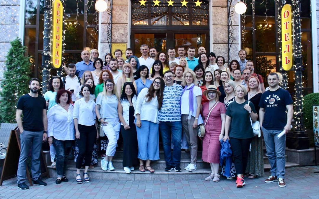 Завершилась 2-я конференция «Гештальт-подход в развитии команд и организаций» в Одессе
