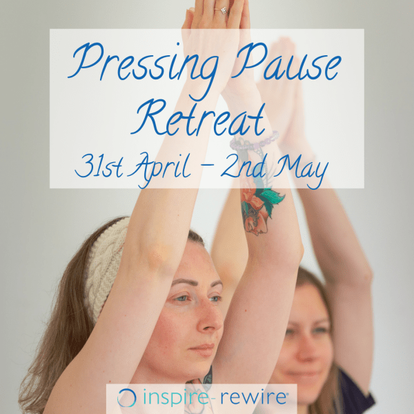 pressing pause - anxiety and fatigue relief