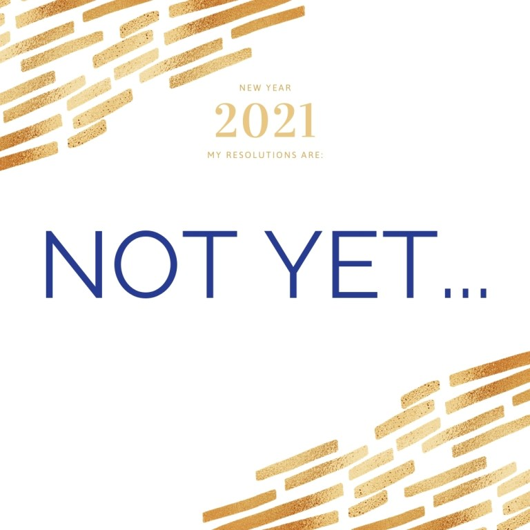 Read more about the article New Year, New Start? NO!  – Wait!