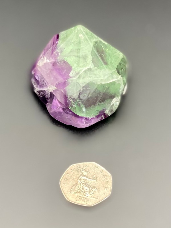 Fluorite Point with 50p