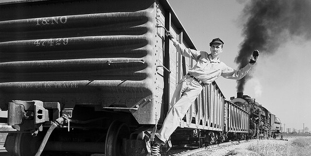 railroad man