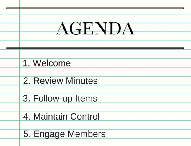 agenda-meetings