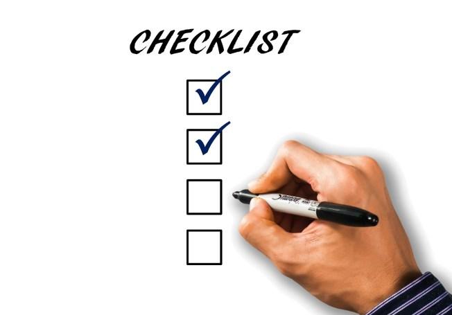micromanagement checklist agenda