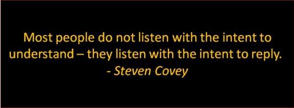 better physician leader covey on listening