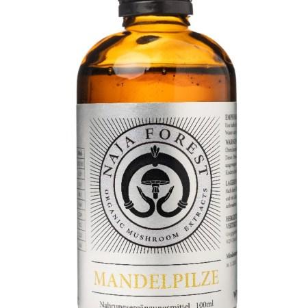 Bio Mandelpilz - Flüssigextrakt 100ml Agaricus Blazei Murrill ABM hochkonzentriert