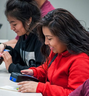 Students participate in science camp event