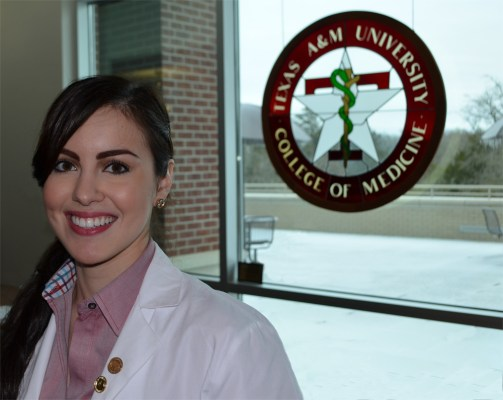Medical student Krystha Kantu received a $100,000, full-ride scholarship to attend the Texas A&M Health Science Center College of Medicine.