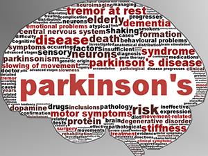 Parkinson's Tag Cloud Image