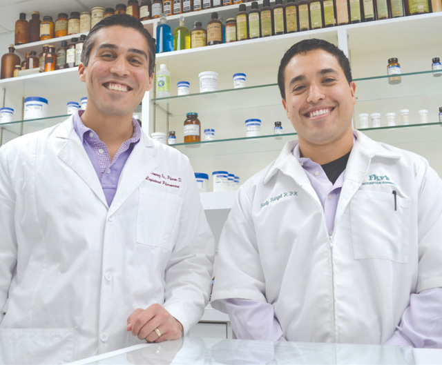 Rudy Rangel, Pharm.D., and Leo Ramirez, Pharm.D., who graduated in 2010 from the Texas A&M Health Science Center Irma Lerma Rangel College of Pharmacy, have experienced an expanding role since graduating.