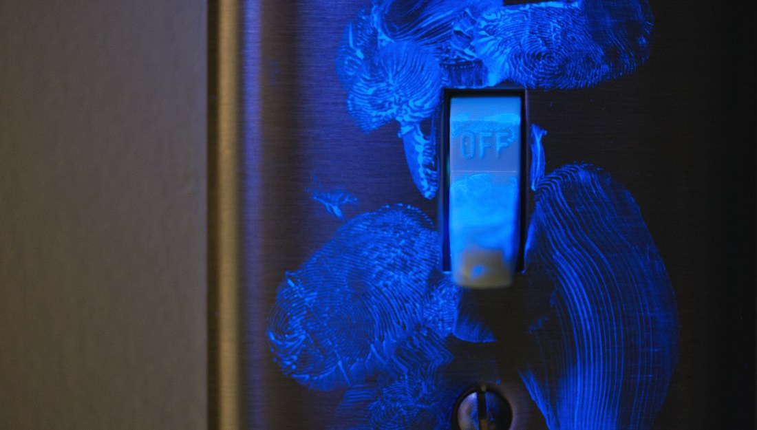 Germ infested light switch