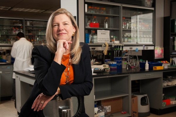 Picture of Dr. Cheryl Walker in lab