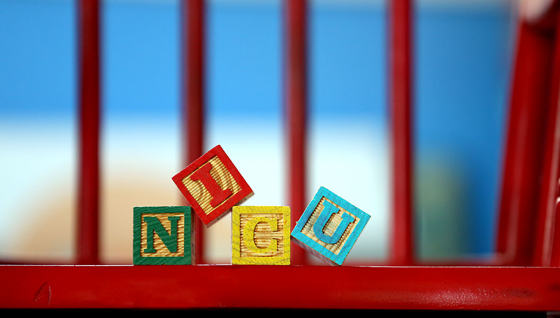 Child's toy Blocks - neonatology