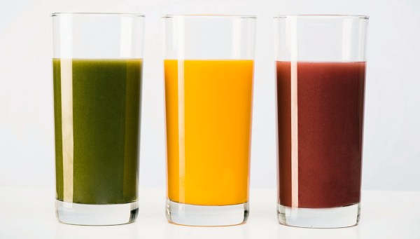 Cups of juice