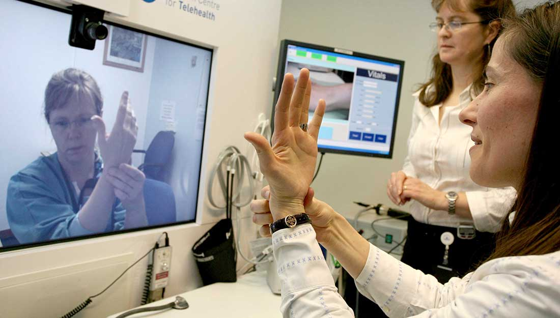 Serving underserved populations through telehealth