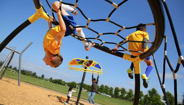 Parks promote physical activity