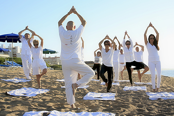 Yoga can help your posture to relive nagging aches and pain