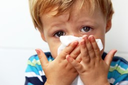 The youngest children can be most susceptible to the flu