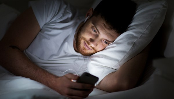 Being on your phone before bed can make sleep a real struggle