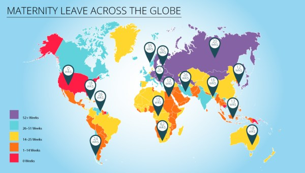 Parental leave map