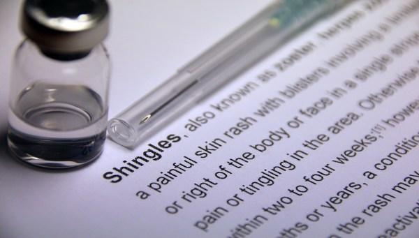 Shingles Photo Illustration