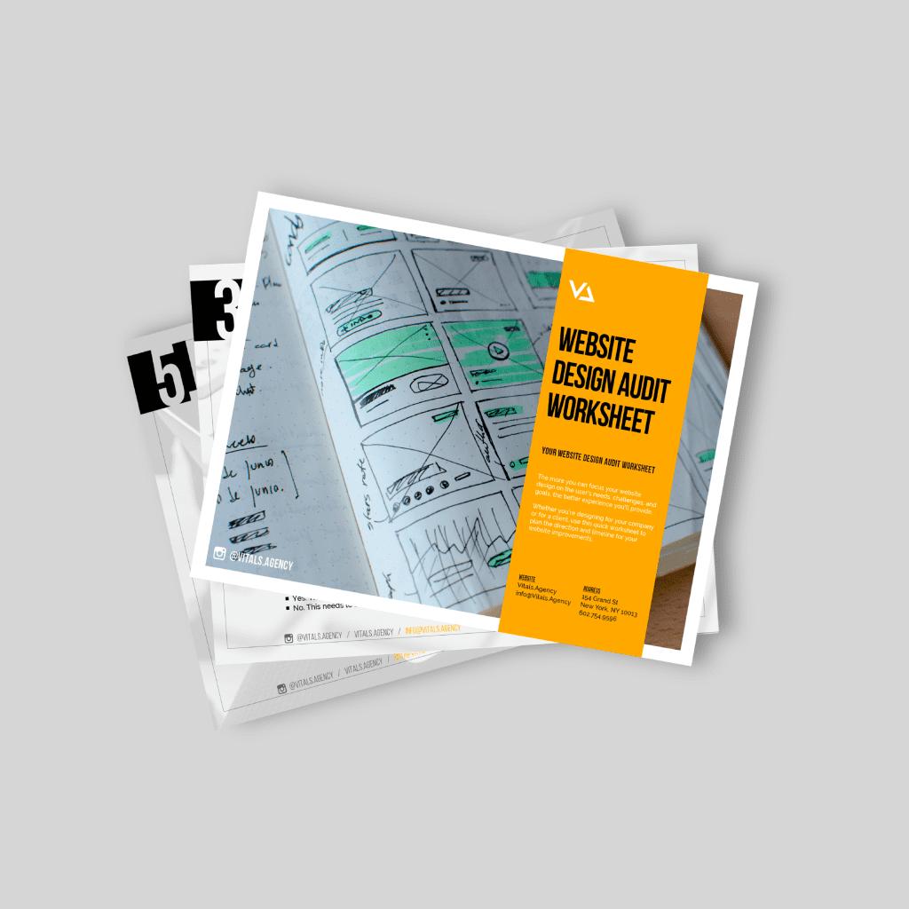 Diy Website Design Audit Workbook