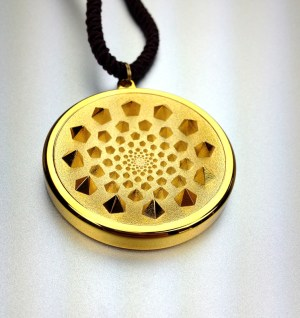 david wolfe necklace, The SENSOR V pendant by Patrick Flanagan