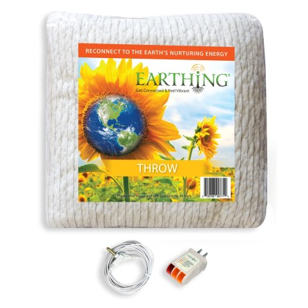 earthing throw blanket kit