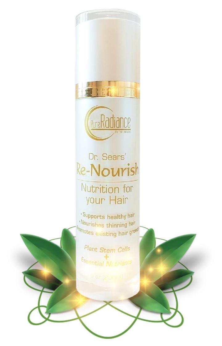 renourish, al sears, hair regrowth, stimulate hair growth